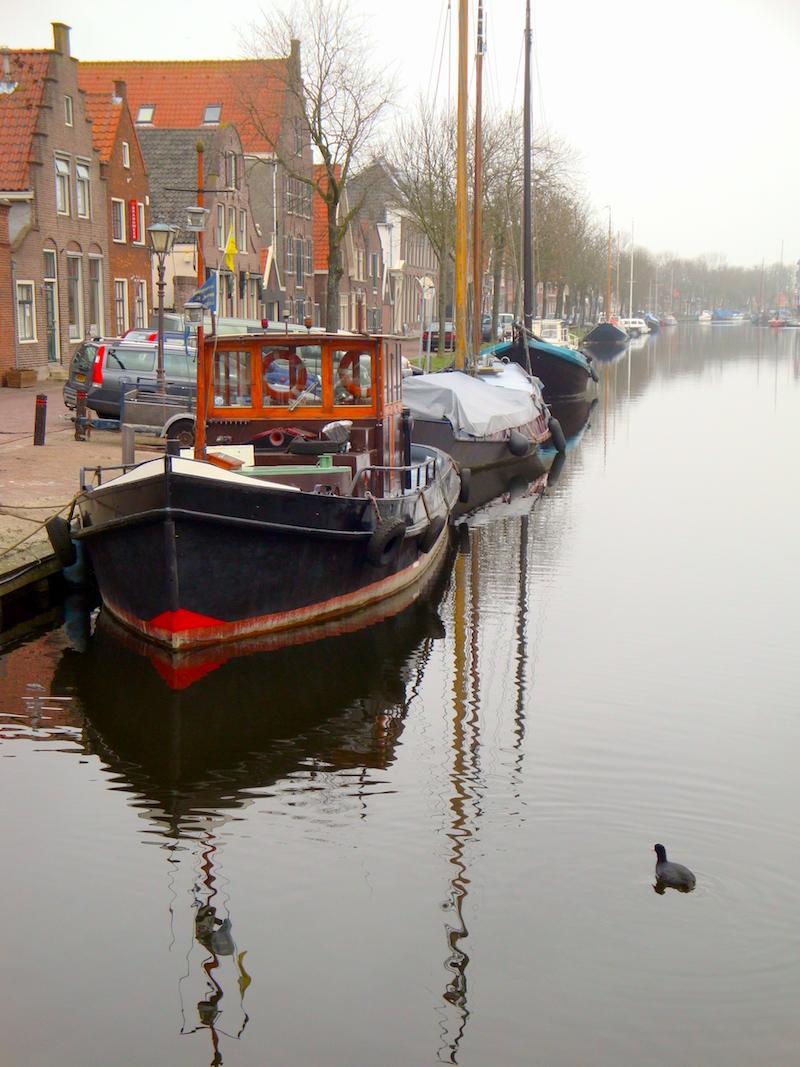 Edam canalboats