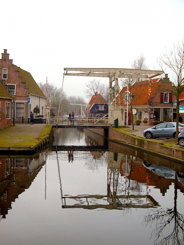 Edam canals, The Netherlands