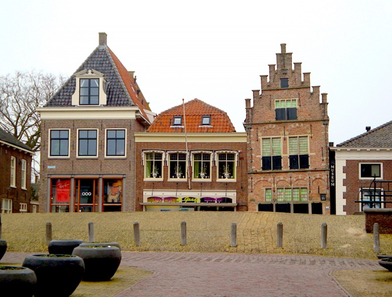 Edam houses, The Netherlands