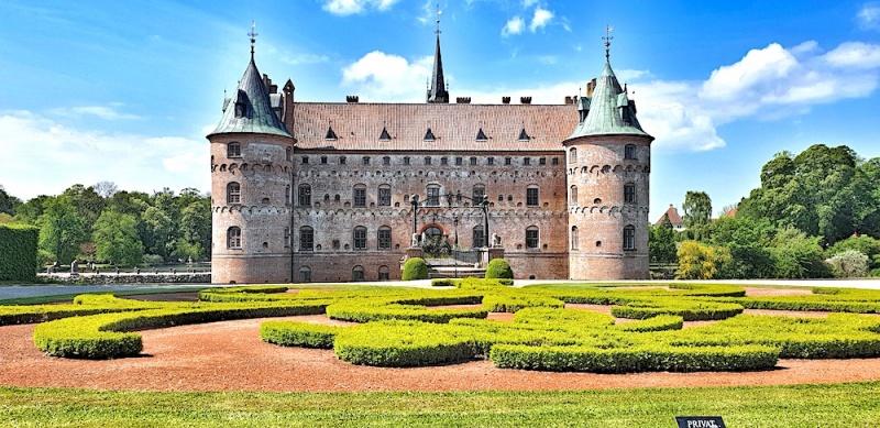 Egeskov castle gardens, Denmark