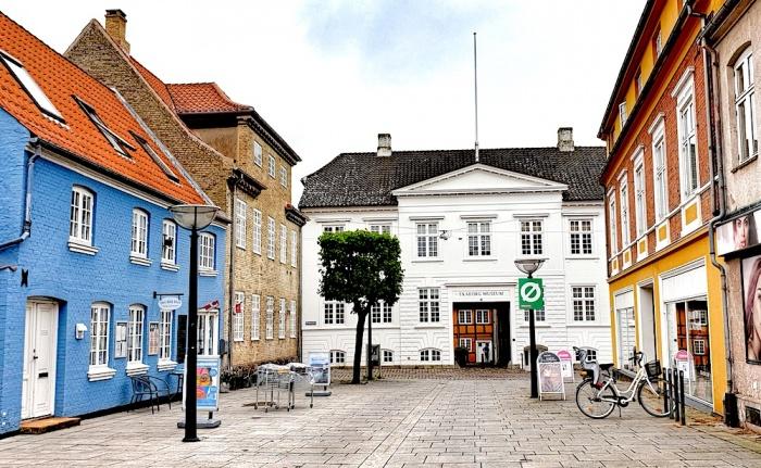 Faaborg old town, Denmark