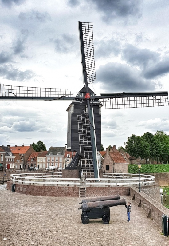 Heusden windmill, The Netherlands