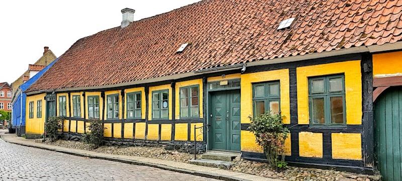 Mariager houses, Denmark