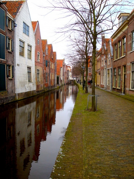 Monnickendam canals, The Netherlands