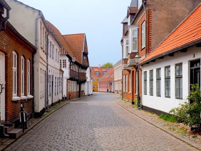 Ribe old town, Denmark