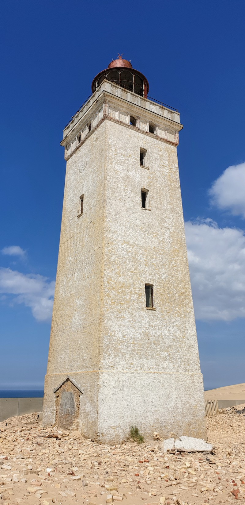 Rudbjerg Knude lighthouse decay
