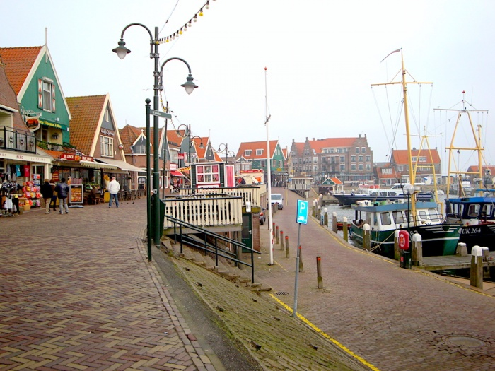 Volendam harbour, The Netherlands