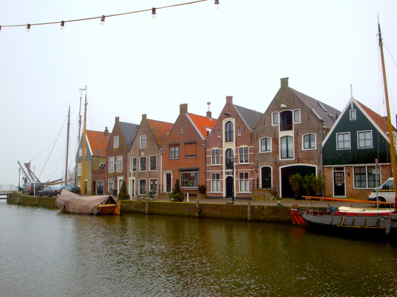 Volendam houses, The Netherlands