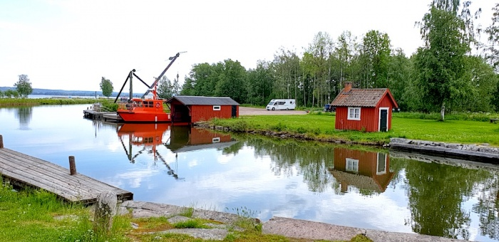 Gota Canal, Kiven , aire, Sweden