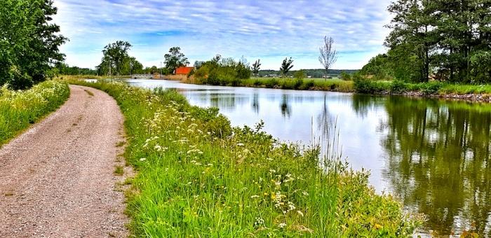 Gota canal landscape, got canal, Sweden