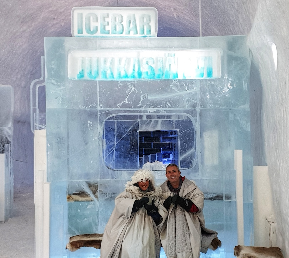 IceBar selfie