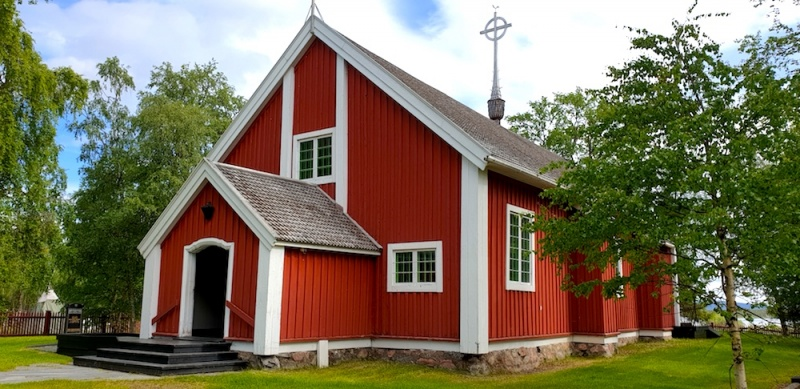 Jukkasjärvi Sami Church, Sweden