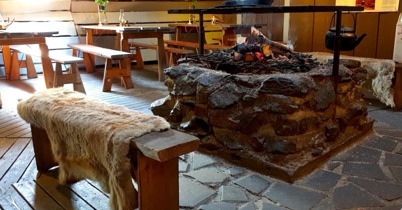 Sami Restaurant Jukkasjarvi, Sweden