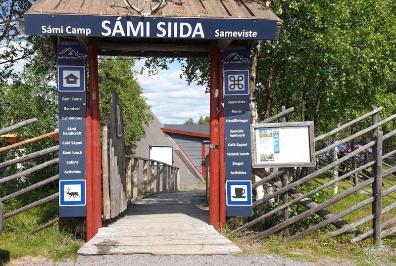 Sami museum, Jukkasjarvi, Sweden