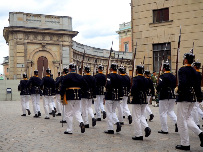 Changing of the Guard, Stockholm Palace, Sweden
