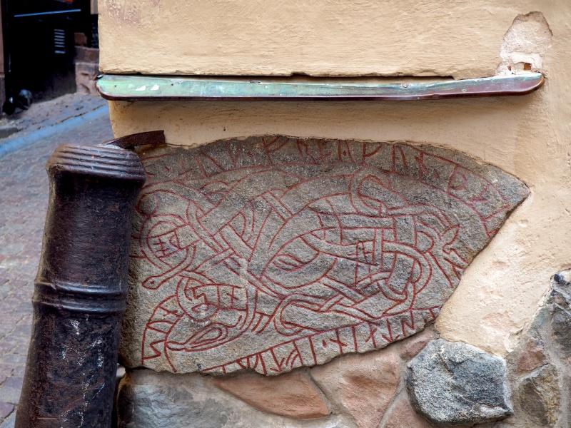 Stockholm's hidden rune stone, Sweden