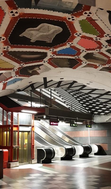 Stockholm's underground art, Sweden