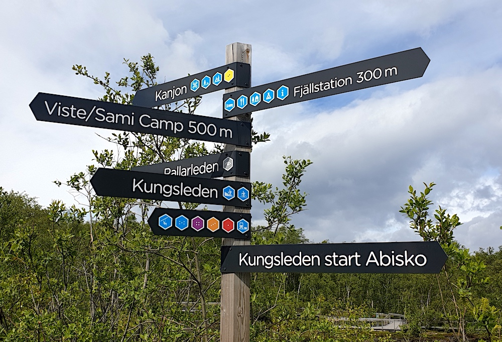 Abisko hiking trails