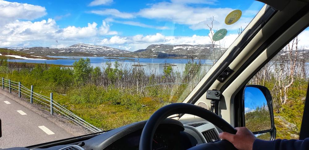 E10 Sweden road