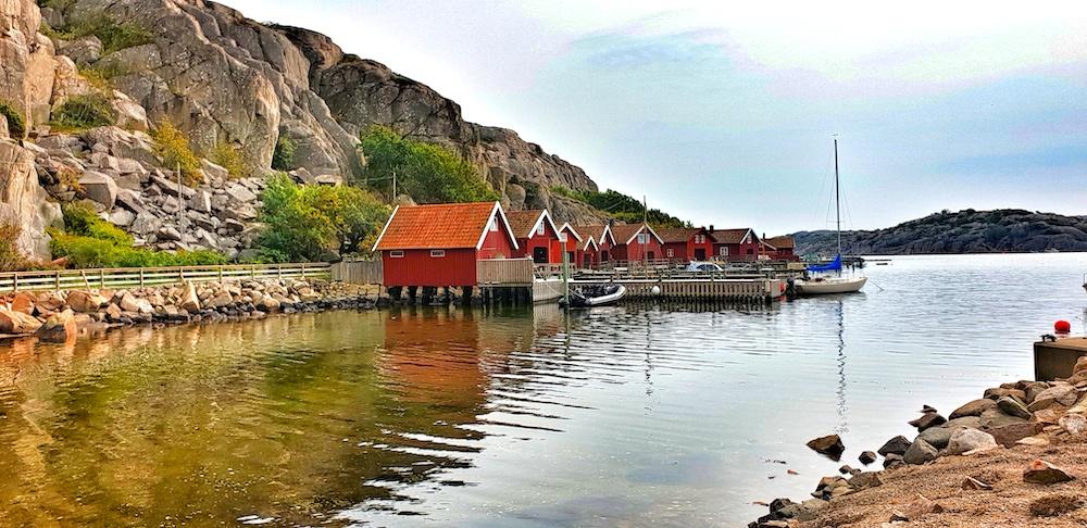 Hamburgersund island, Sweden