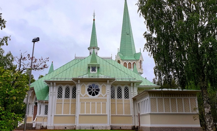 Jokkmokk church, Sweden
