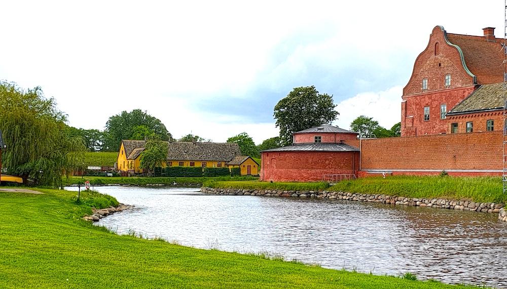 Star moat Landskrone, Sweden