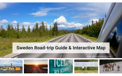 Sweden Road-trip Guide & Interactive Map