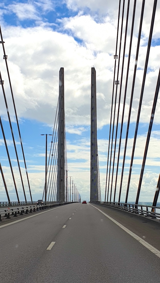 Oresund Bridge to Sweden
