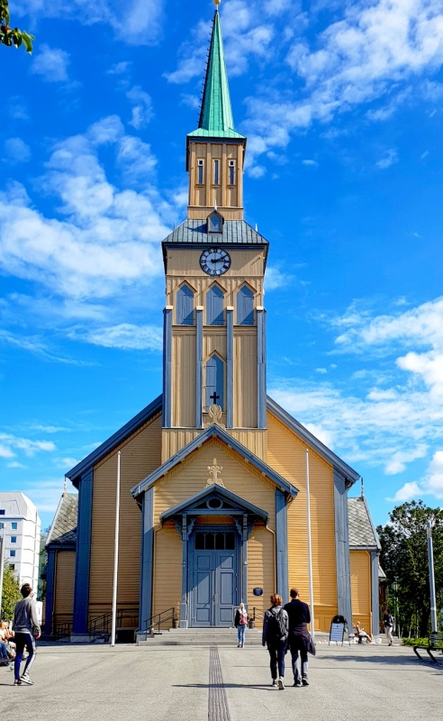 Cathedral, Tromso, Norway