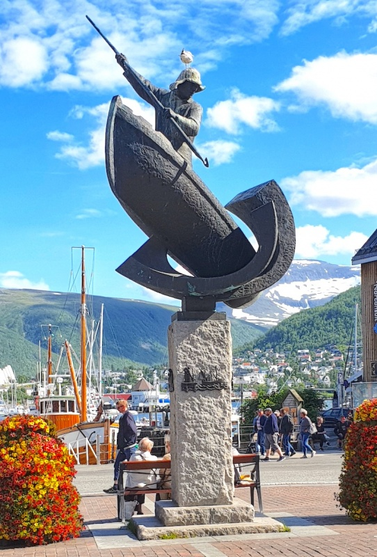 Mariner's tribute, Tromso, Norway