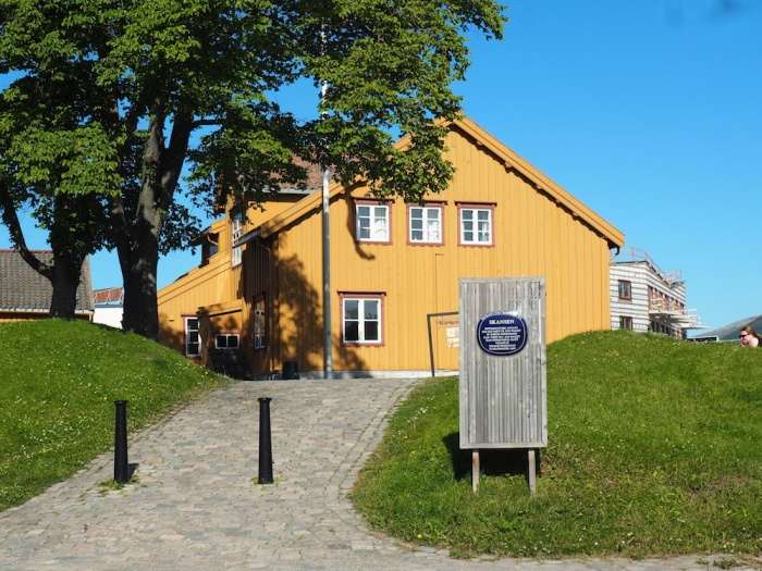 Skansen House - Oldest in Tromso, Norway
