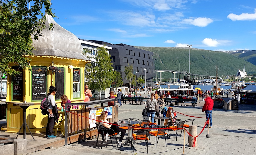 Tiniest pub in world Tromso