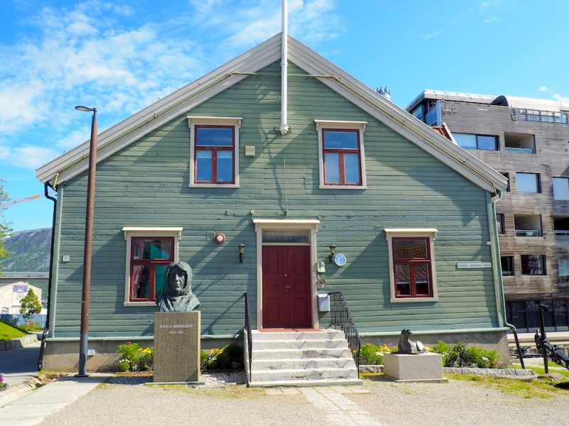 Tromsø wooden house, Tromso, Norway