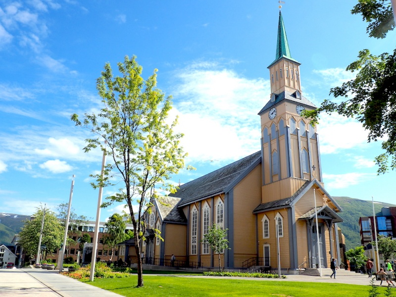 Tromso's Rebuilt Cathedral, Norway