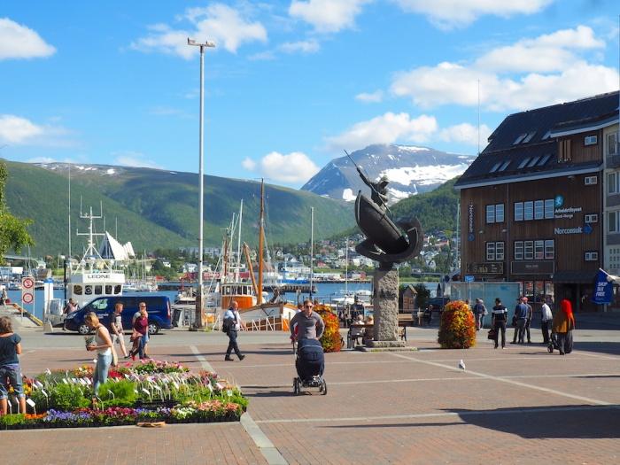 Tromso Market Square, Tromso, Norway