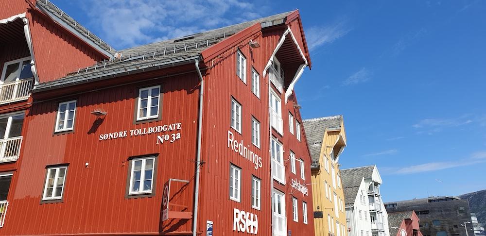 Tromso wharf, Norway