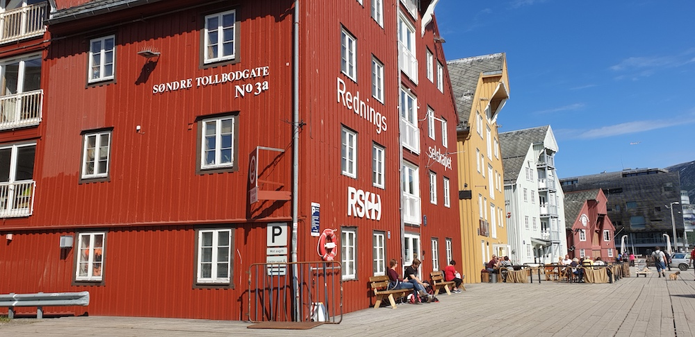 Tromso wharf, Tromso, Norway