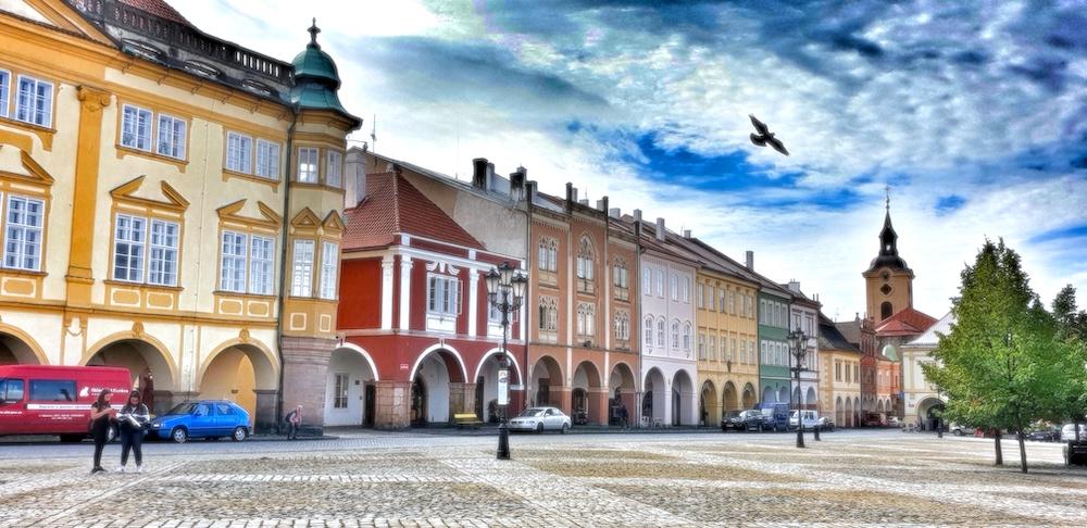 Jicin square