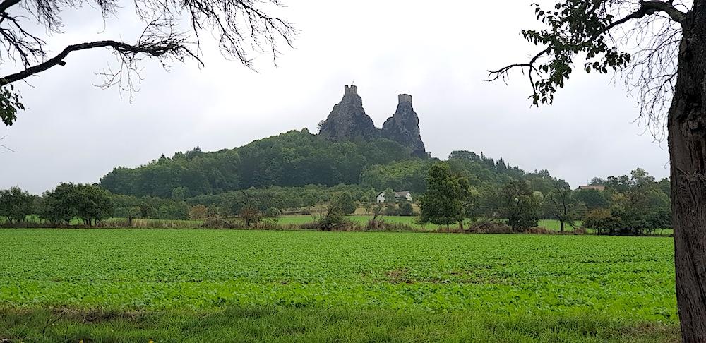 Trosky Castle Bohemia Raj