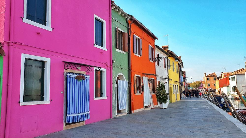 Burano doorways Venice