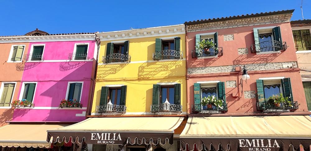 Burano shops Venice