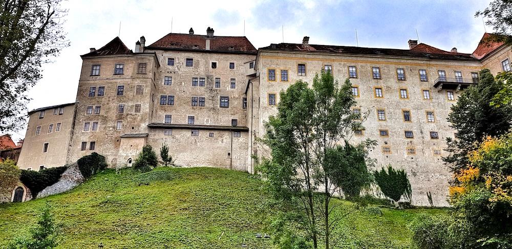 Cesky Krumlov Castle rear