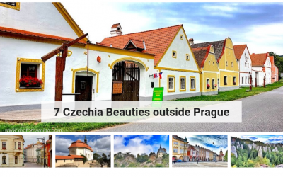 7 Czechia Beauties outside Prague
