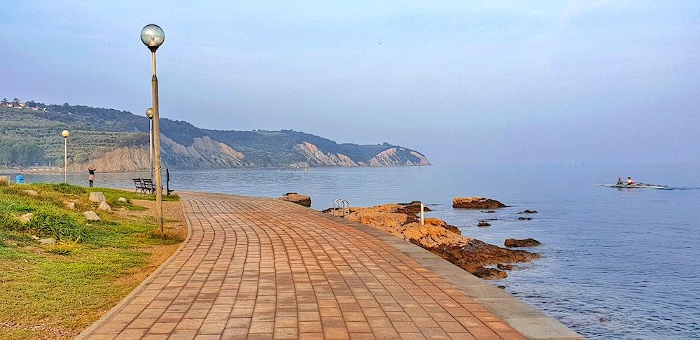 Izola promenade