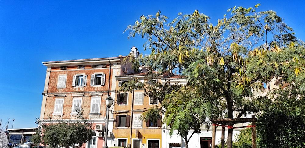 Izola Venetian buildings