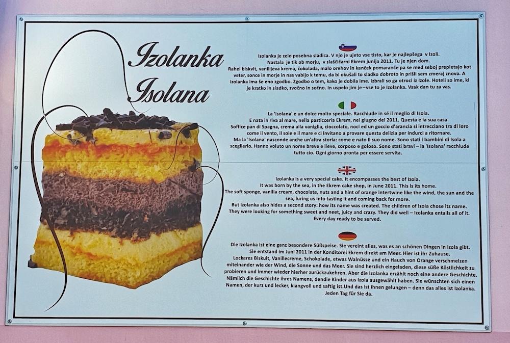 Izolanka Cake
