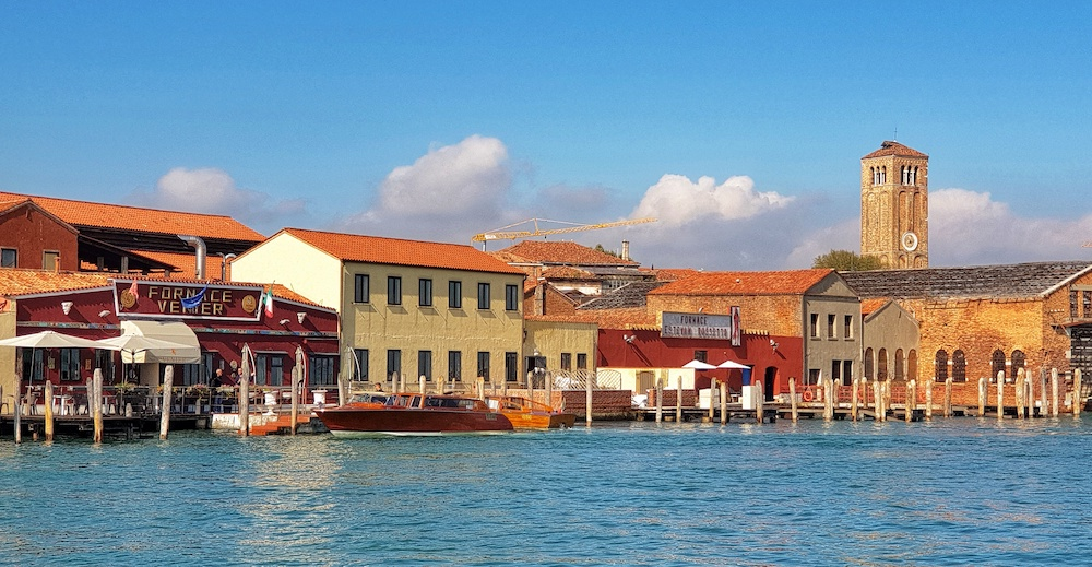 Murano from the ferry