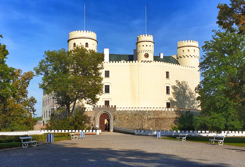 Orlik Castle South Bohemia