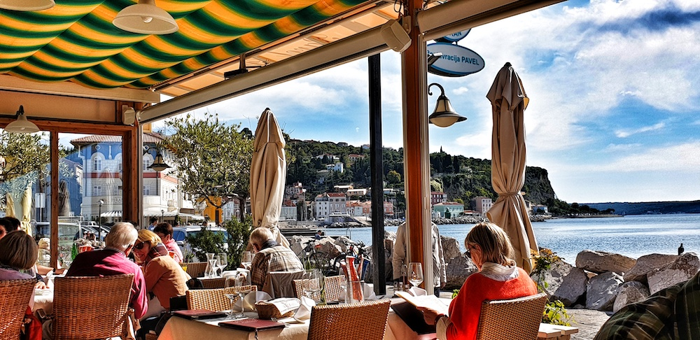 Pavel restaurant Piran