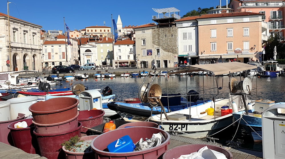 Piran fishing port